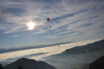 RC Paraglider Nikolaustreffen